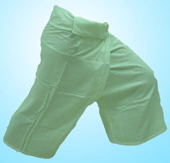Thai Fisherman Yoga Massage 3/4 Pants GREEN
