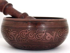 G THROAT CHAKRA TIBETAN SINGING BOWL