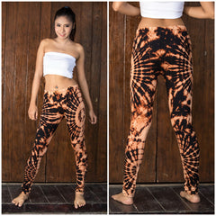 Super Soft Comfortable Womens Leggings Tie Dye