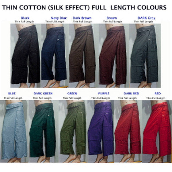 Wholesale set of 10 Silky Soft Thai Fisherman Pants