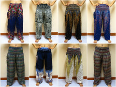Wholesale set of 10 Thai Genie Pants BESTSELLER