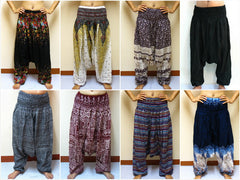 Wholesale set of 10 Thai Low Cut Genie Pants BESTSELLER