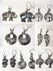 Wholesale set of 10 Thai Hand Made Earrings