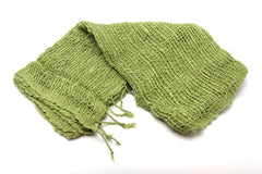 Fair Trade 100% Organic Cotton Scarf Lime green