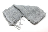 Fair Trade 100% Organic Cotton Scarf Gray