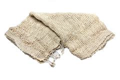 100% Organic Cotton Scarf Shawl From Thailand White