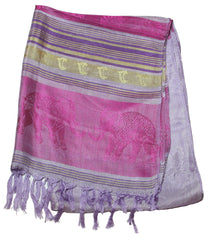 Beautiful hand made Nepal Pashmina Scarf Shawl Grape