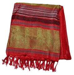 Beautiful hand made Nepal Pashmina Scarf Shawl Red
