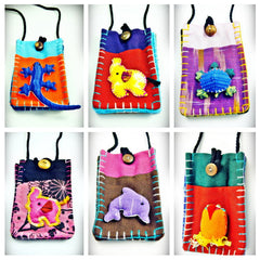 Wholesale Set of 10 Thai Hand Made Cute Cell Phone Pouch