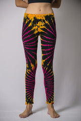 Super Soft Comfortable Womens Leggings Yellow Grape