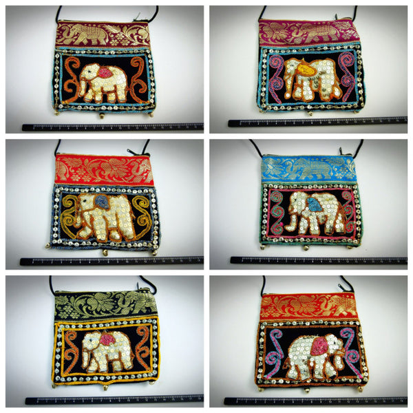 Wholesale Lot Of 10 Thai Burmese Elephant bags