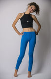 Super Soft Comfortable Womens Leggings Light Blue