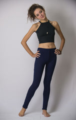 Super Soft Comfortable Womens Leggings Blue