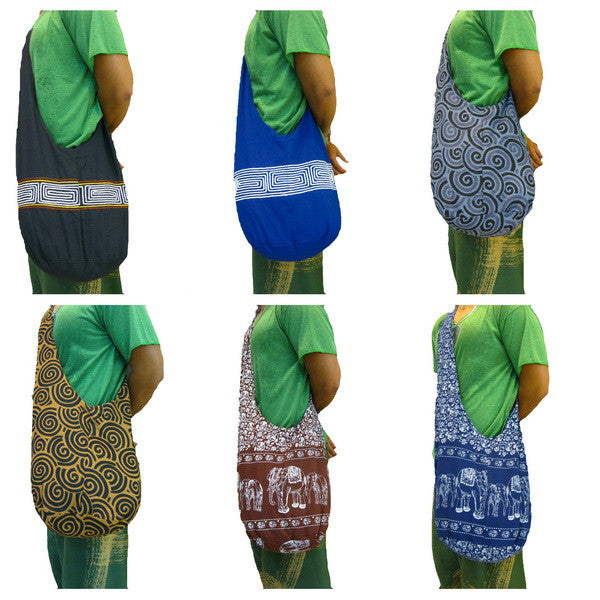 Wholesale Set of 10 Thai Hand Made Shoulder Bags Emboidered