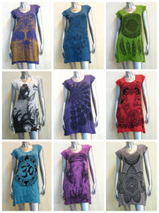 Sure Design Wholesale Set of 10 Women's Tunic Dresses