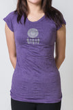 SureDesign Women's Super Soft Tshirt Dream Catcher Purple