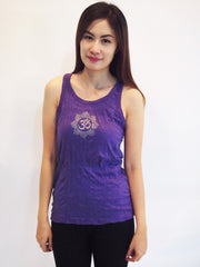 SureDesign Women's Super Soft Tank Top Om Purple