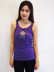 SureDesign Women's Super Soft Tank Top Dream Catcher Purple