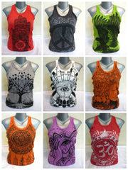 Sure Design Wholesale Set of 10 Women's Tank Top T-Shirts