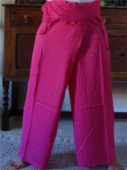 Thai Fisherman Yoga Massage Pants Pink
