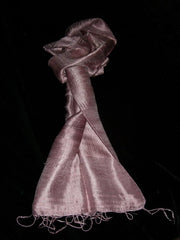 100% Fair Trade Thai Silk Soft Scarf Shawl Orchid