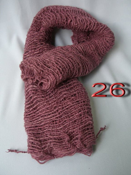 Fair Trade 100% Organic Cotton Scarf Wine
