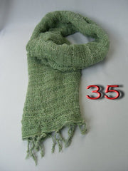 Fair Trade 100% Organic Cotton Scarf Green