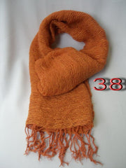 Fair Trade 100% Organic Cotton Scarf Orange