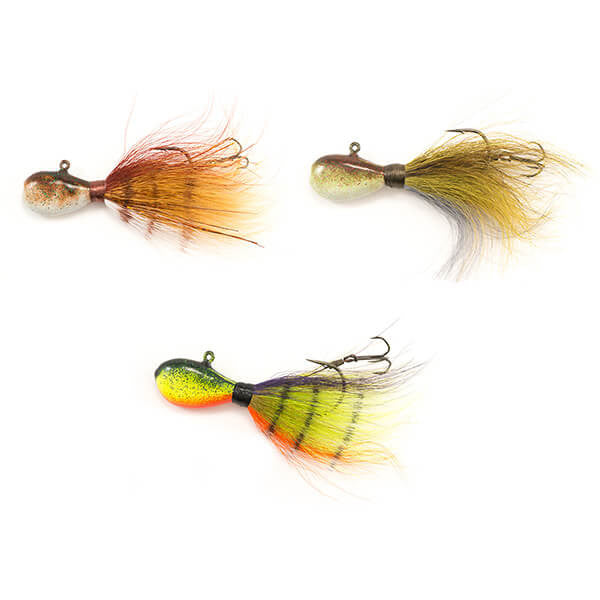 Flat Head Walleye Jigs Glowbie/Sand Pike/i Tiger