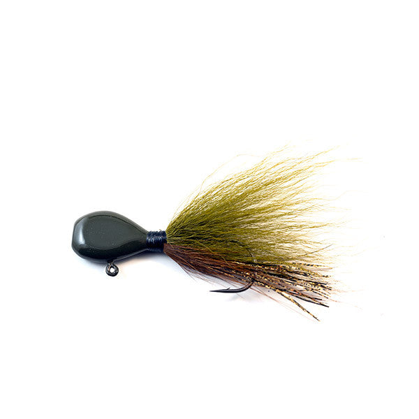 Flat Head Walleye Jigs Solid Colors