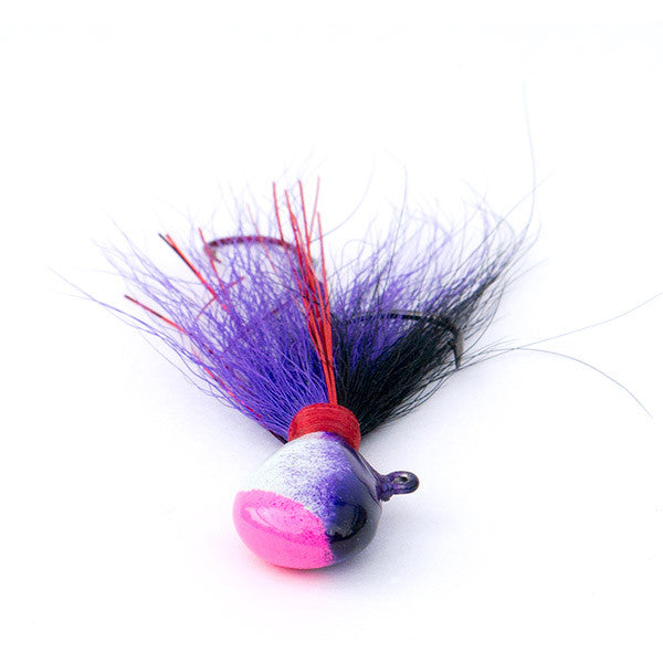 Walleye Jig Insane Clown Purple