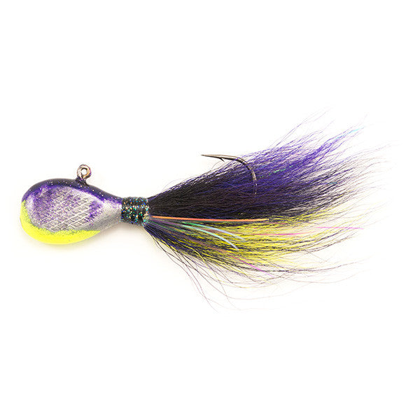 Flat Head Walleye Jigs Multi Colored
