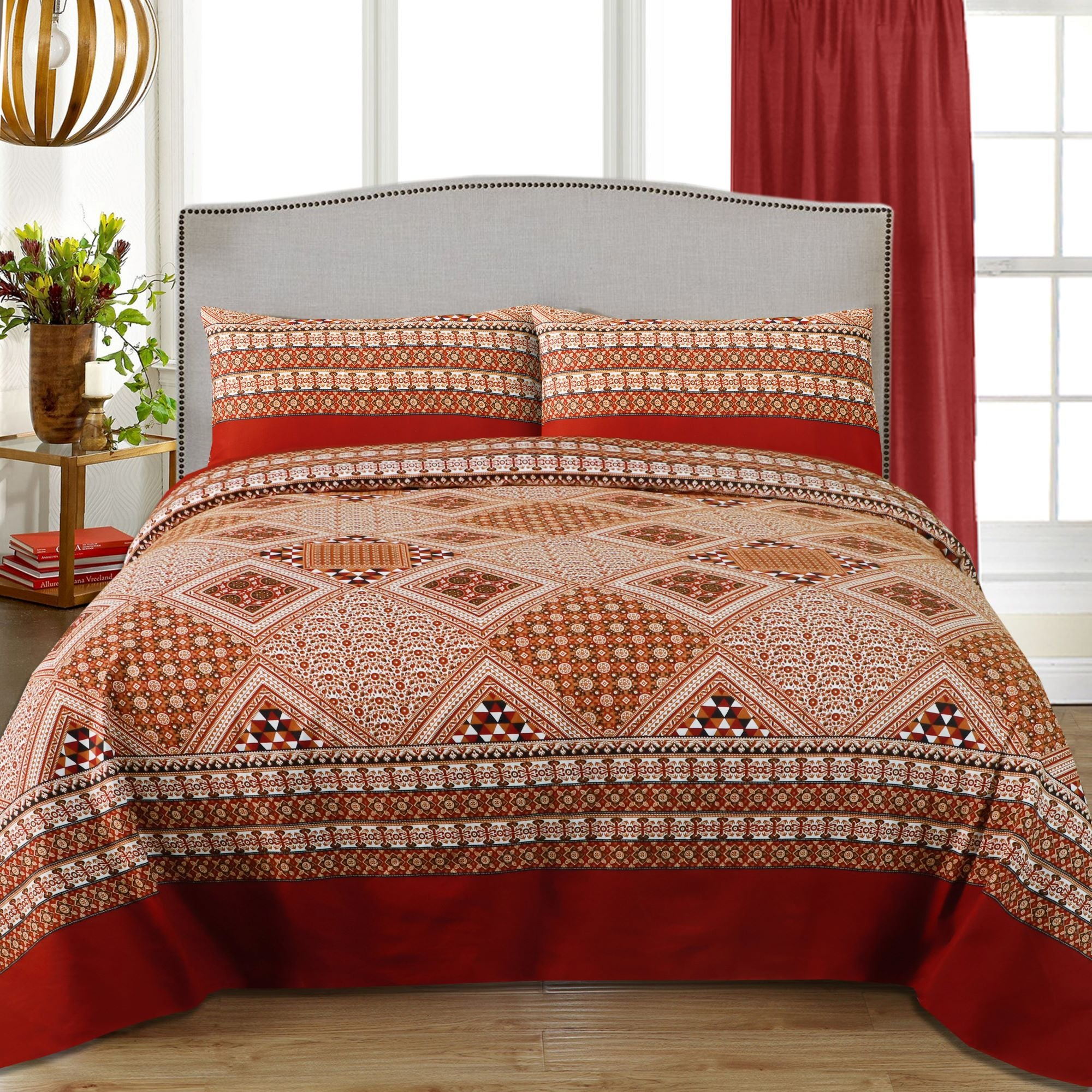 Aplic Traditional Cotton Bed sheet