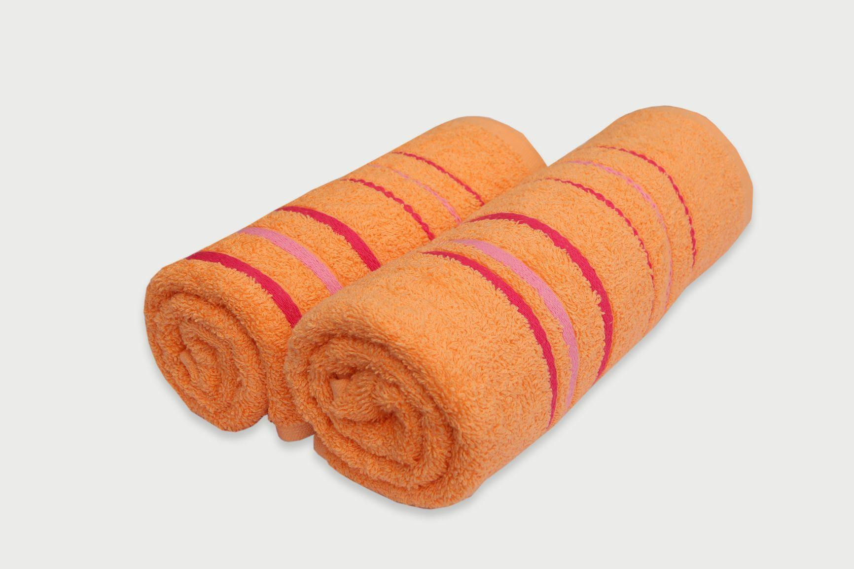 Soft Apricot Towel - Set of 2 - Daily Essentials