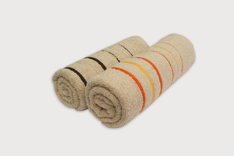 Tan Soft Towel - Set of 2 - Daily Essentials