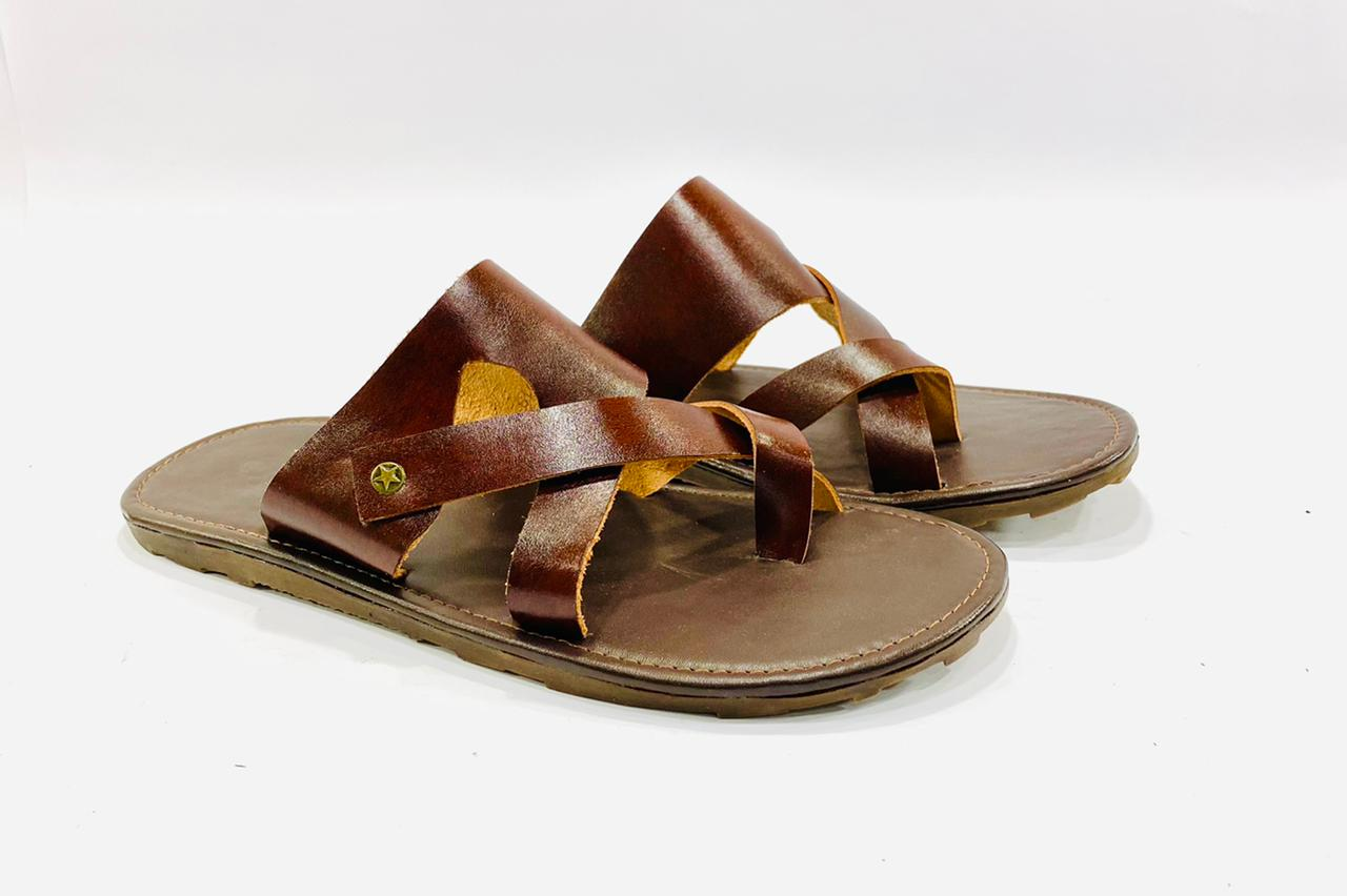 TAN Casual Comfy Slippers