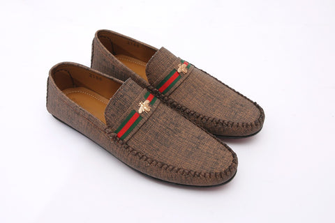 Mocha Stylish Casual Moccasins - Daily Essentials