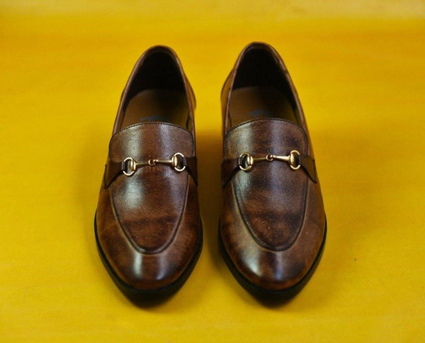 Premium Brown Two Tone Shoe