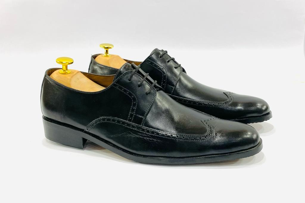 Black Business Shoes With Laces