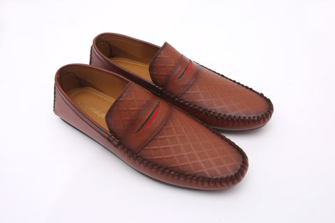 Pecan Men Stylish Moccasins - Daily Essentials
