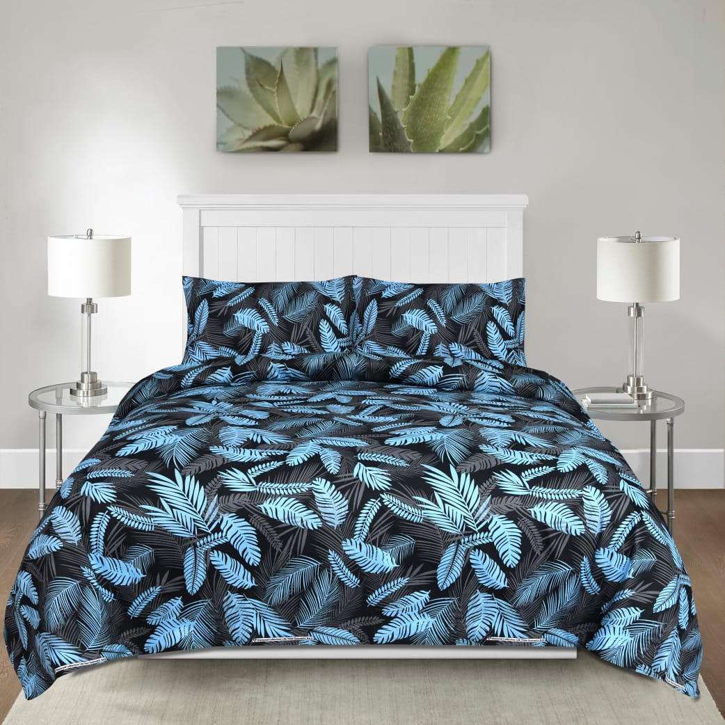 Botanic Stalk Cotton Bed Sheet