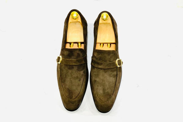 Fusion Brown Suede Leather Shoe