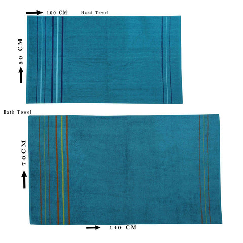 Steelblue Soft Towel - Set of 2 - Daily Essentials