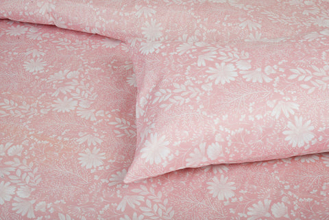Oldrose Cotton Bed Sheet