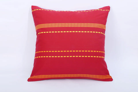 Deep Maroon - Cotton Cushion Cover - Daily Essentials