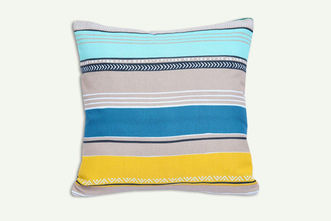 Multi Stripe - Cotton Cushion Cover - Daily Essentials