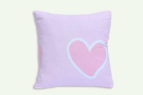 Heart Refreshing - Cotton Cushion Cover - Daily Essentials