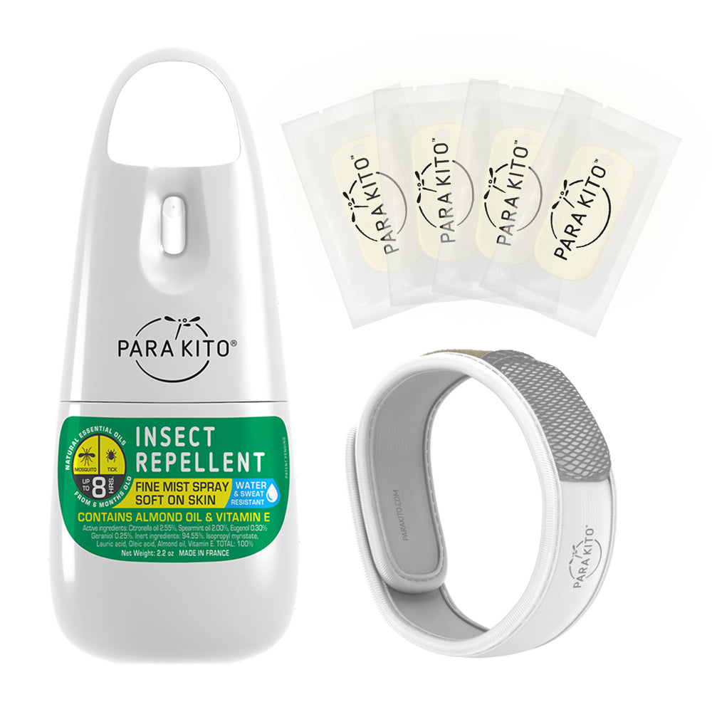 Bundle - 1x Spray + 1x Wristband with 4 Refills