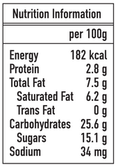 Ice Age Strawberry nutrition information