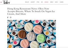 Hong Kong Restaurant News: Okra Now Accepts Bitcoin, Where To Snack On Vegan Ice Cream, And More